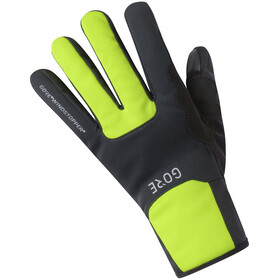 GORE WEAR Windstopper Thermo Gloves black/neon yellow